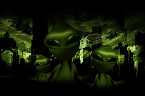 Alien Invasion Canva